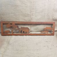 Elephant Wall Plaque